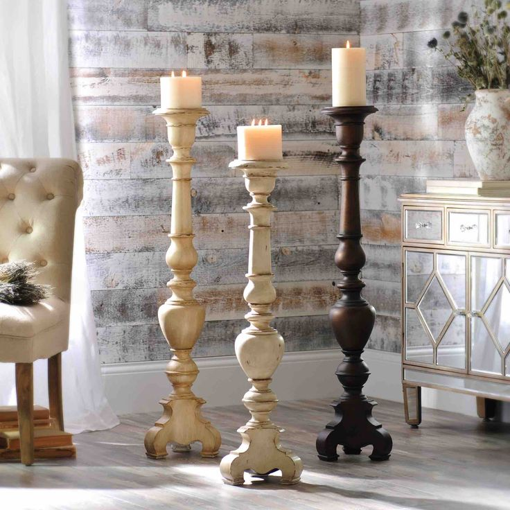 Add some flair to your decor with a decorative candle holder! Our selection of floor pillar candle holders will add a romantic touch to your decor. Shop now and enjoy 20% off ALL floor pillar candle holders! Sale ends 4/24.