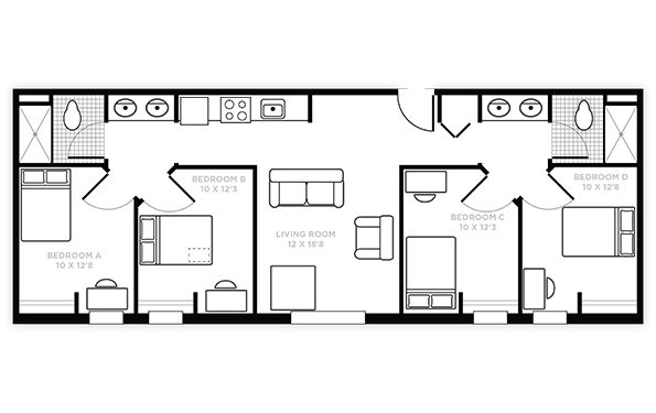 45 best images about layouts for college dorm rooms on pinterest