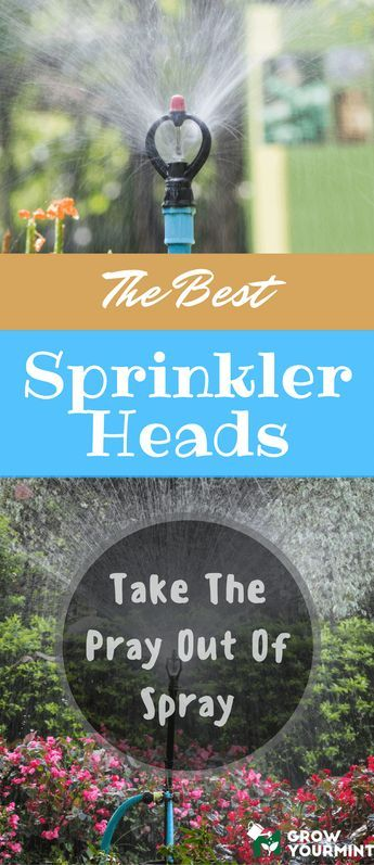 Finding the best sprinkler heads on the market can be a tedious and difficult task. Are All Sprinkler Heads The Same?