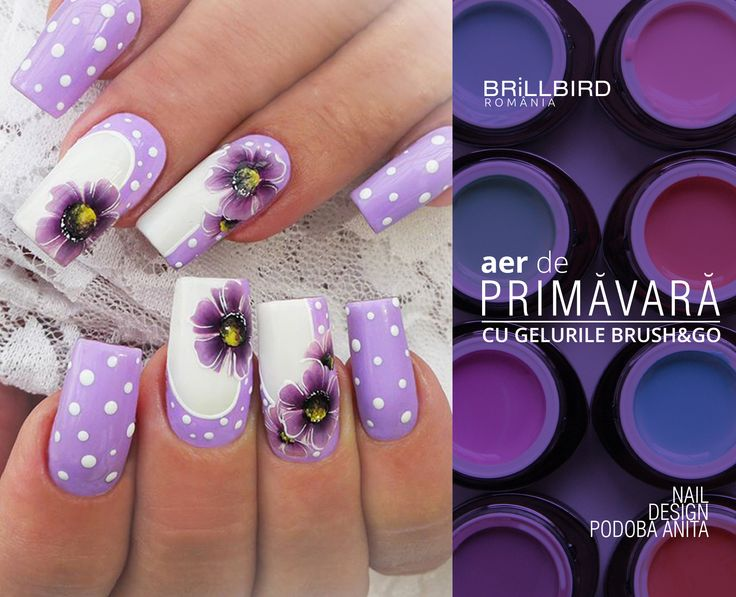 Sarbatoreste primavara cu unghii perfecte din materiale BrillBird!