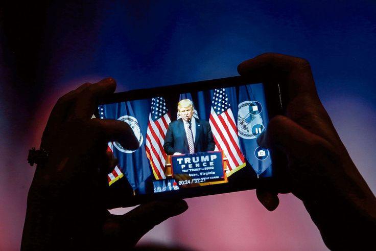 Republikeinse partij: De officiële kandidaat Trump zou zijn toon matigen, was het Republikeinse mantra. Nu die draai uitblijft, groeit de angst.