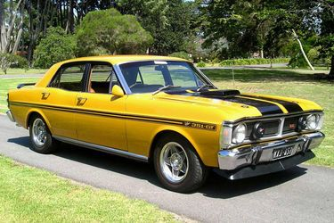 1970 Ford Falcon GTHO Phase III AT THE TIME THE WORLDS FASTEST FOUR DOOR CAR!