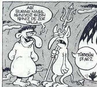 Türk'üz biz, farkımız bu :D