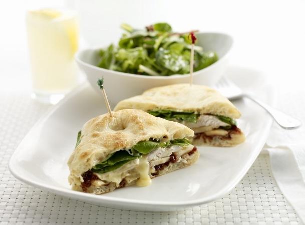 Baked Chicken and Brie Sandwich at Earls Restaurant...orgasmic