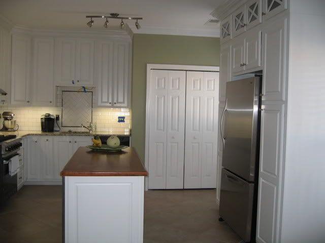 graygreenpaintcolor   kitchen paint color - Home Decorating & Design Forum - GardenWeb
