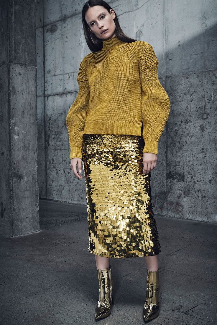 Sally LaPointe Pre-Fall 2018 collection, runway looks, beauty, models, and revie…