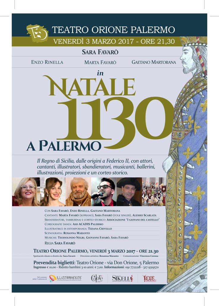 """""""Natale 1130 a Palermo"""" di e con Sara Favarò,"""