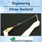 Straw Rockets are quick, simple and lots of fun for the students. This STEM activity takes about one hour to assemble and one hour for outside laun...