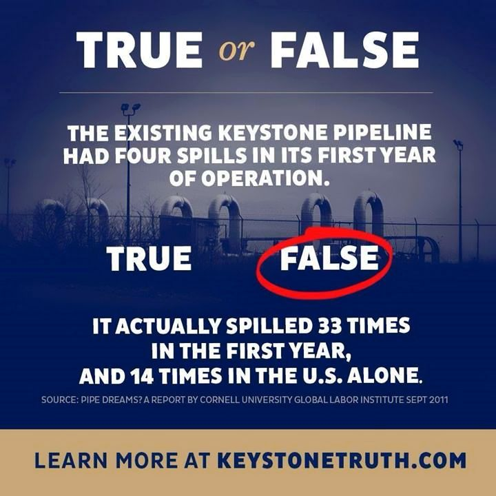 (W) Stop the Keystone XL Pipeline, No More Dirty Tar Sands Oil FACTS: http://keystonetruth.com/