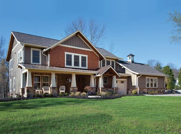 17 best images about exterior on pinterest craftsman - Arts and crafts exterior paint colors minimalist ...