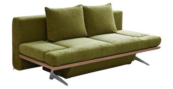 Schlafsofa Olivgrun Chromfarben Olivgrun Design Holz Textil 215 96 103cm Dieter Knoll Schlafsofa Olivgrune Sofas Sofa