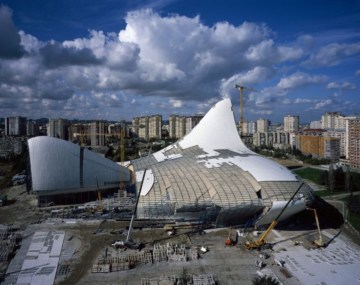 Zaha Hadidu0027s Heydar Aliyev Cultural Centre: Turning A Vision Into Reality |  A Structure | Pinterest | Zaha Hadid, Cultural Center And Zaha Hadid  Architects