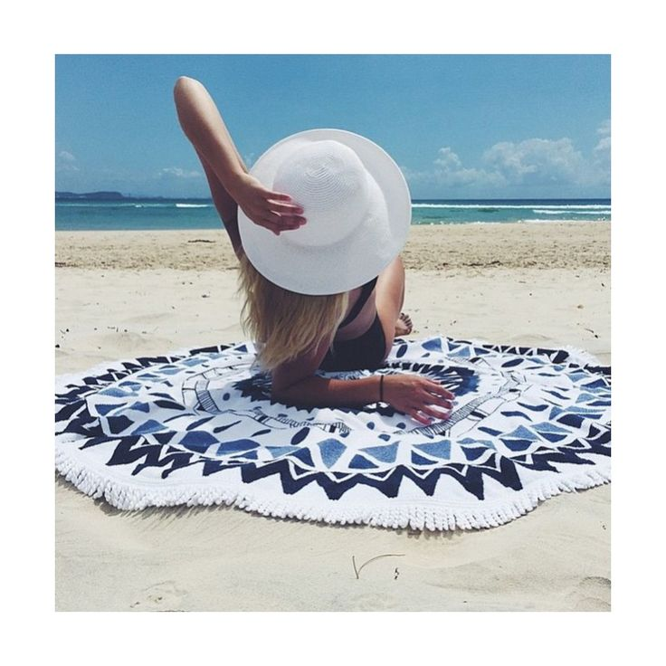 Wholesale Round Beach Towels at very reasonable prices