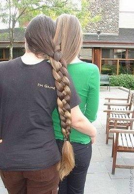 One braid,two heads