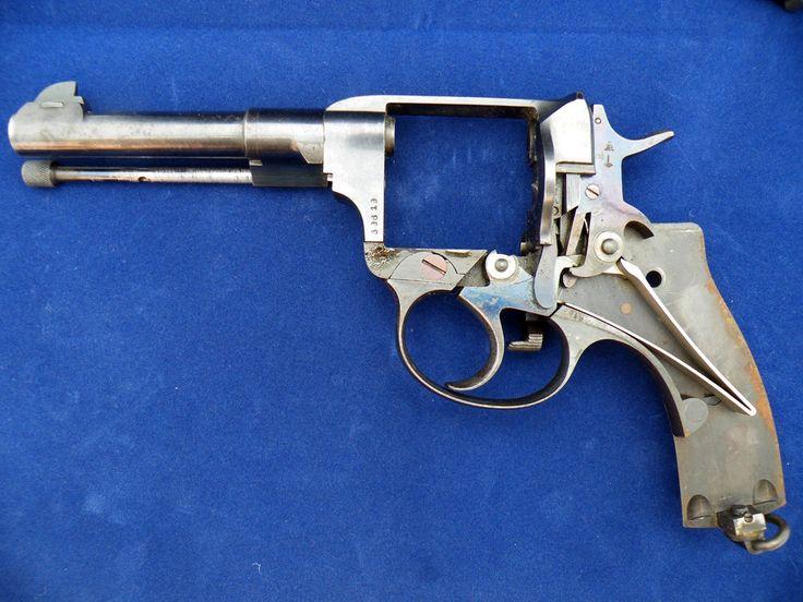 Рамка револьвера Наган (кликните по изображению, чтобы увидеть фото полного размера)