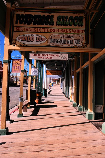 Virginia City, Nevada - best preserved gold mining town of the 1860s