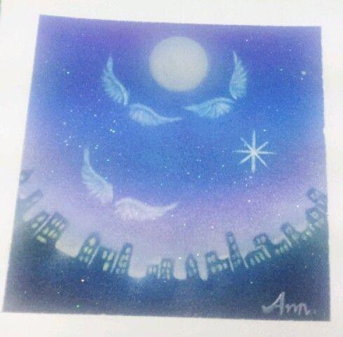 『Aile Art』Aile はフランス語で翼。エールアートは天使の翼のパステルアートです。天使からの「エール」があなたに届きますように…♪天使...|ハンドメイド、手作り、手仕事品の通販・販売・購入ならCreema。