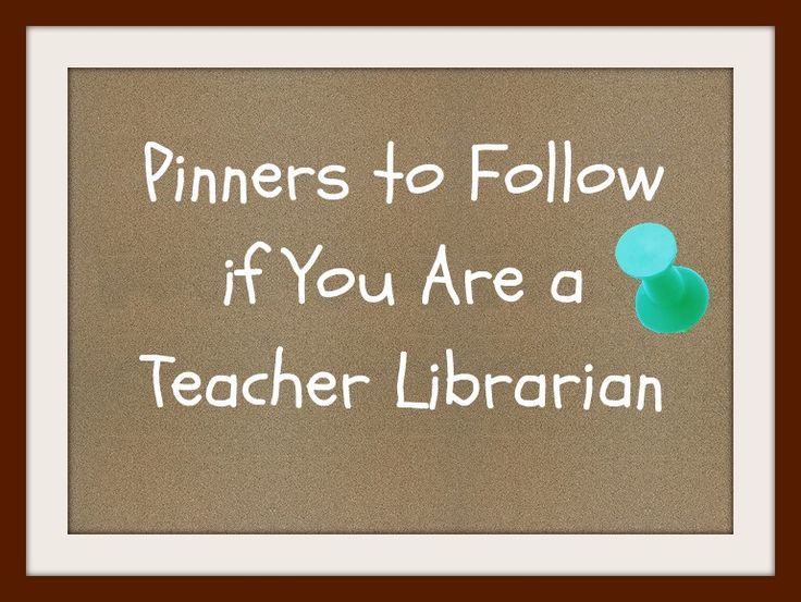Ms. O Reads Books: Pinterest & Teacher Librarians