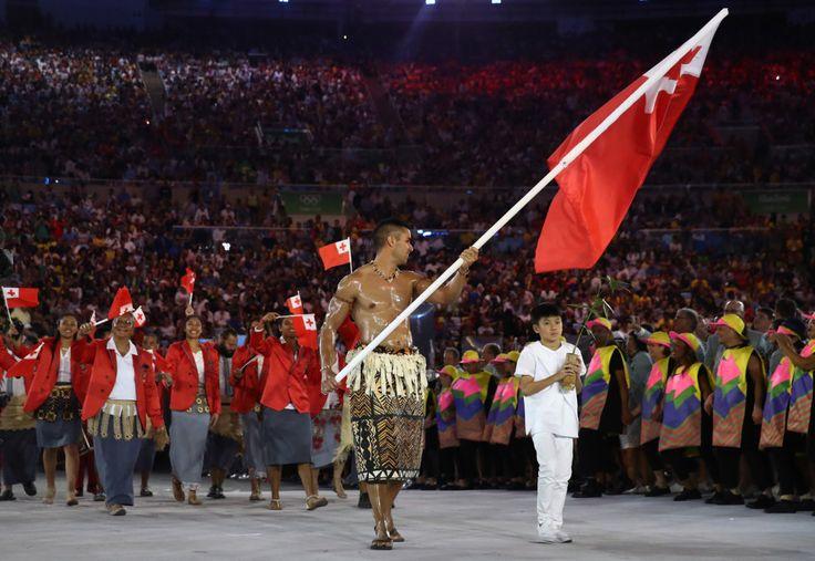 My Tonga hit the floor.
