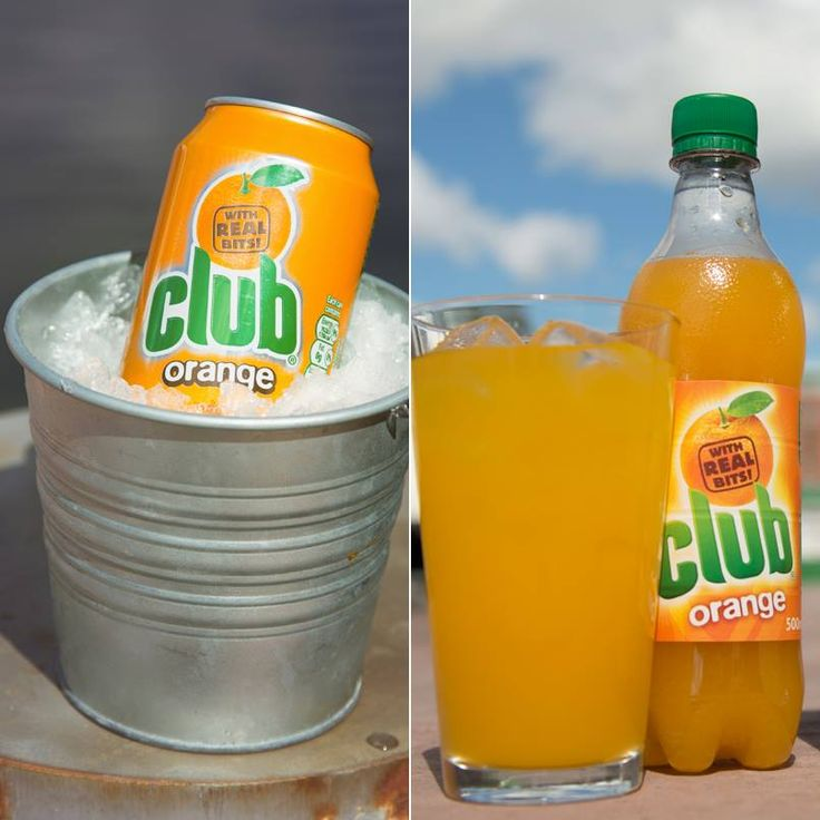Cool down with Club Orange - whether you prefer cans or bottles both are available in USA!