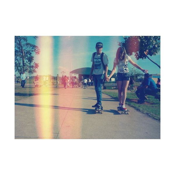 longboard couple ❤ liked on Polyvore featuring couples, pictures, people, backgrounds y cute couples