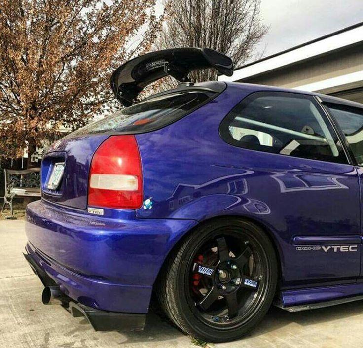 Jdm Screamers: 33 Best Honda Civic EK Images On Pinterest