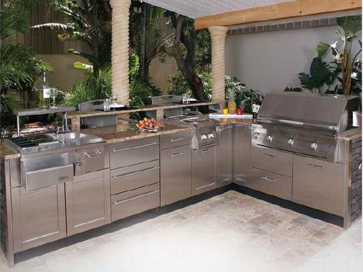 25 Best Outdoor Kitchen Ideas Images On Pinterest  Modular Custom How To Design An Outdoor Kitchen Decorating Design
