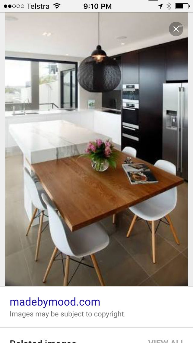 Kitchen island/dining table