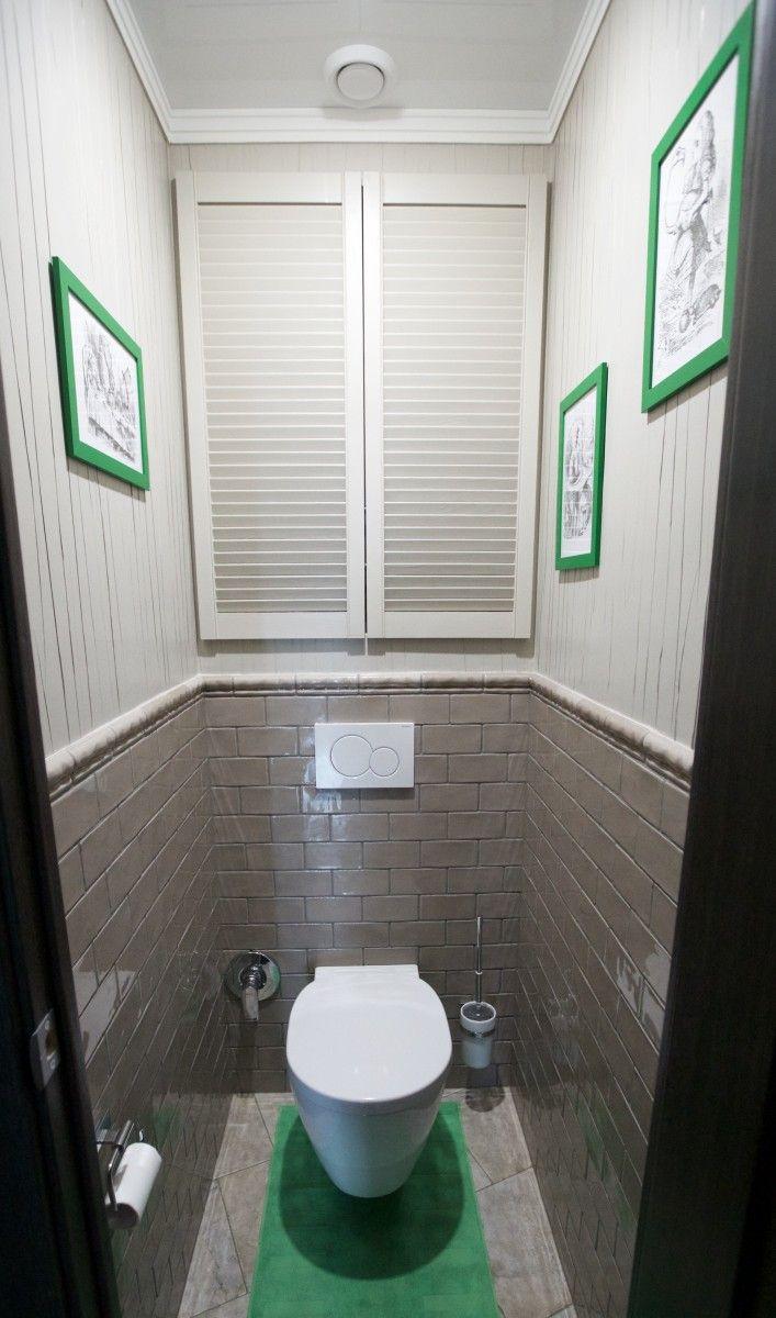 Проект санузла, дизайн туалета