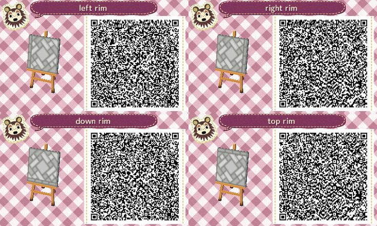 Animal Crossing QR Codes ❤ TreasureTown Path #2