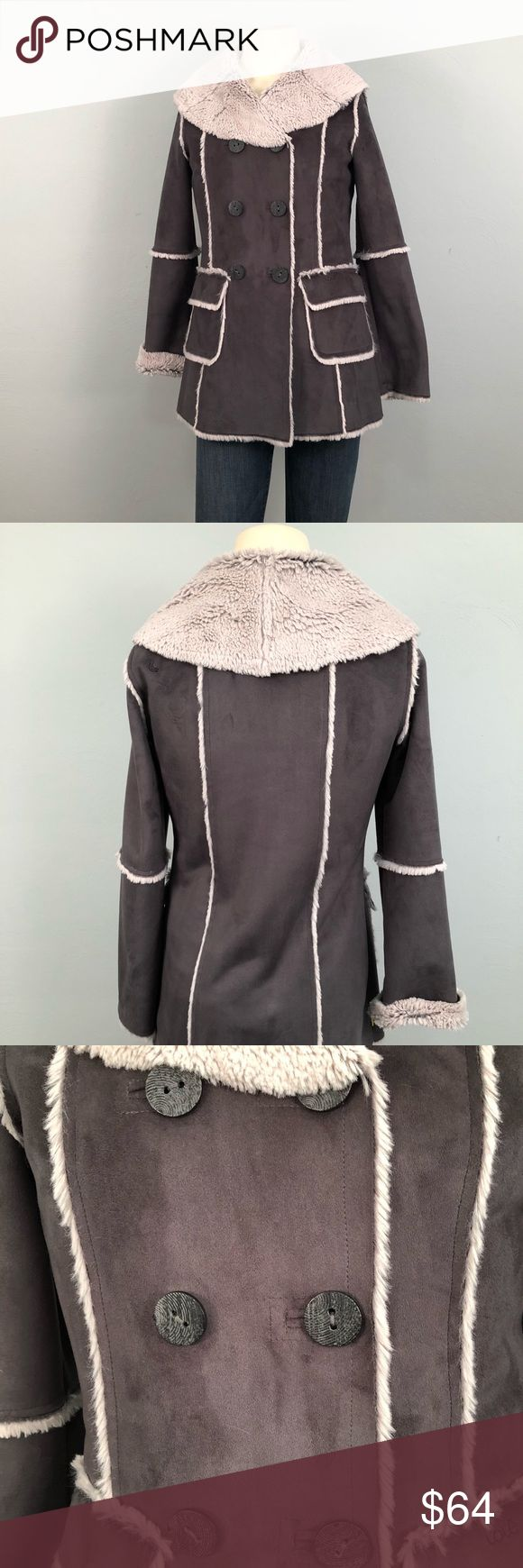 Lolë faux Suede Jacket This jacket is perfect condition! Absolutely no flaws to report. The lining is incredibly soft and warm. The size part of the tag is gone so I took pictures of the measurements. Please feel free to ask further questions and all offers will be considered. Lole Jackets & Coats