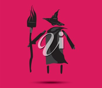 Witch and Broom COncept Design