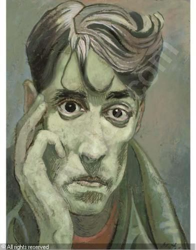Cecil Beaton,Portrait of John Minton.