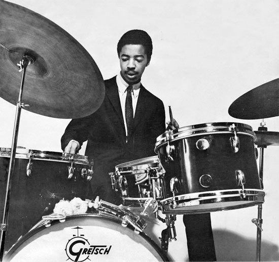 Tony Williams. Made a name of himself by playing with the great Miles Davis. I'm not qualified enough to make comments about his playing. It's beyond me...