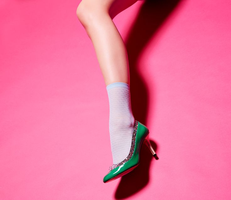 Bubble it up for Friday! Put on your party heels and make a splash! Minna Parikka Soap in green patent.