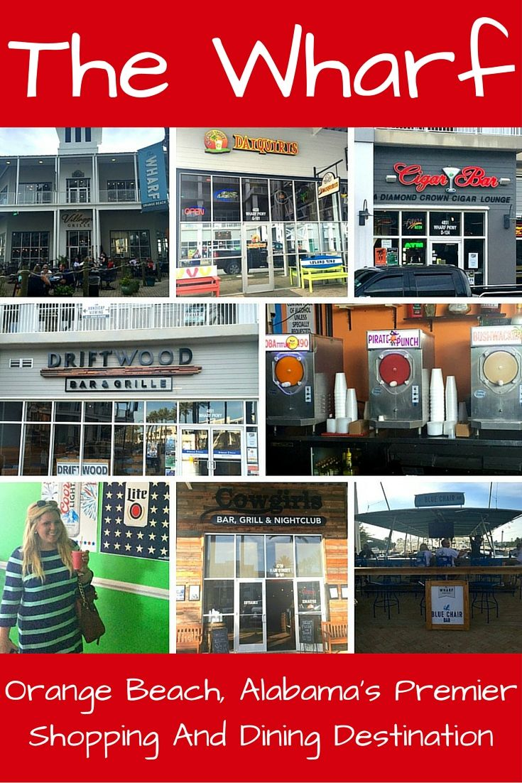 The Wharf is a huge shopping/dining complex in Orange Beach, Alabama. If you are in the area, a stop is a must.