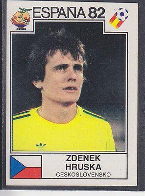 Panini - Espana 82 World Cup - # 258 Zdenek Hruska - Ceskoslovensko