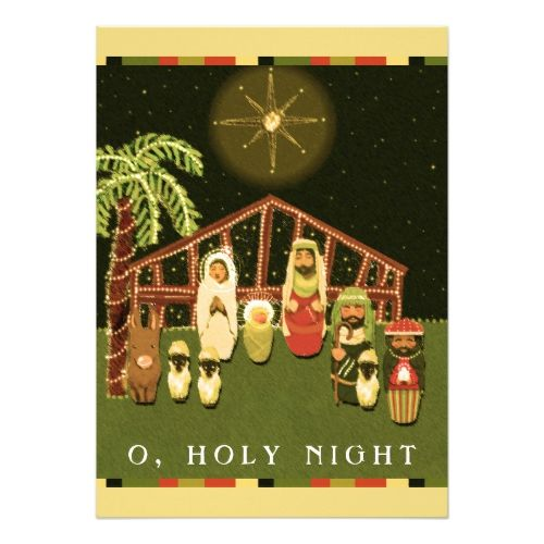 religious Christmas cards - invitations custom unique diy personalize occasions