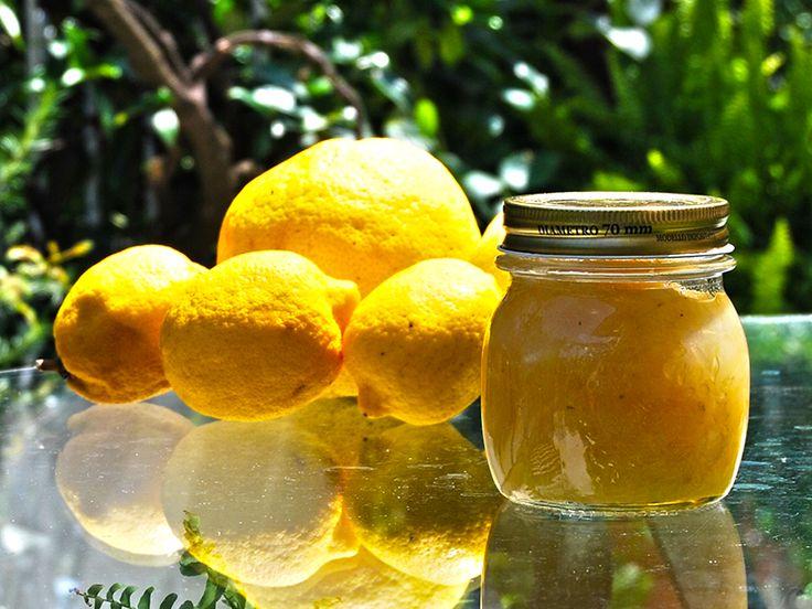 Il Cucchiaio di Giada | Marmellata di Limoni con le scorze | Lemon Jam