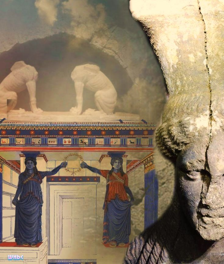 WHBC-GR: Αμφίπολη | Νέα έγχρωμη αναπαράσταση των Καρυάτιδων