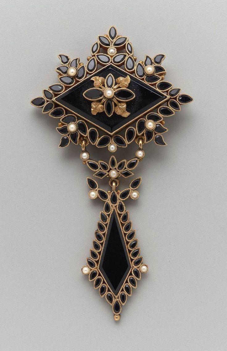 brooch american or european second half 19th century