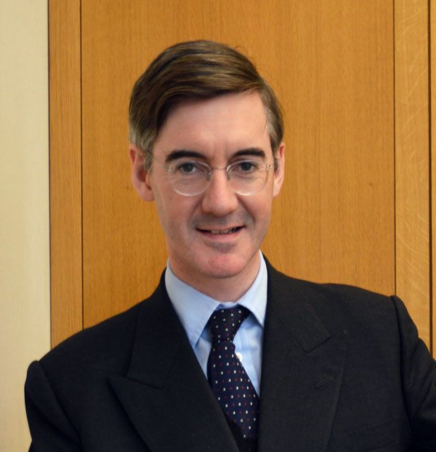 """Jacob Rees-Mogg - people who  are outraged that an ultra traditional roman Catholic and extreme right winger has such appalling views on abortion, same sex marriage and anyone not of his """"class"""" haven't been paying attention to anything he has said or done in the past."""