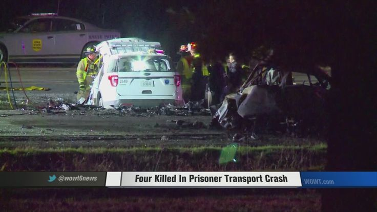 A head-on collision on Interstate 80 near Waukee, Iowa took the lives of four people Saturday morning, including two Des Moines police officers and the prisoner they were taking from Council Bluffs to Des Moines.