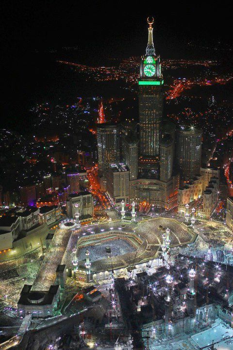 mecca?  http://dreaminginthedeepsouth.tumblr.com/post/34407487010/everythingfifa-mecca