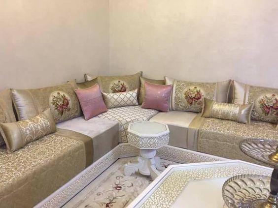 Le salon marocain 21 الصالون المغربي en 2019 | Style marocain ...