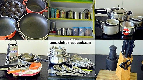 Kitchen Utensils Tools List For Home With Pdf Indian Kitchen