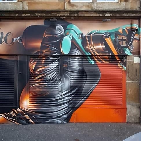 Smug One, Glasgow, UK, 2016