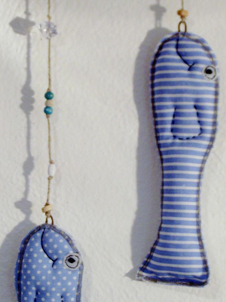 První+úlovek.angler fish, fisch, sewn toys