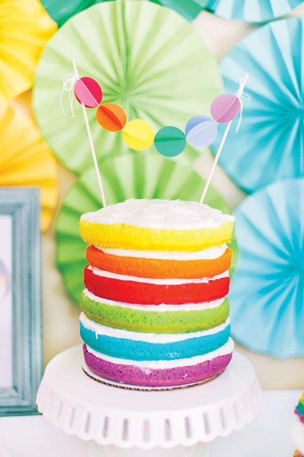 ...torta-arco iris