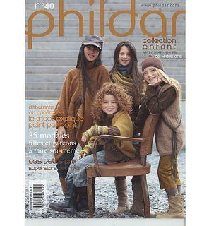 Ravelry: Phildar No. 040, Collection Enfants Automne-Hiver 2010